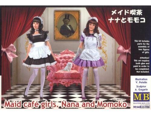Master Box Maid cafe girls. Nana and Momoko 1:35 (35186)