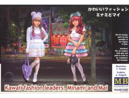 Master Box Kawaii fashion leaders.Minami and Mai 1:35 (35187)