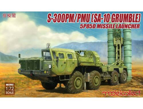 Modelcollect S-300PM/PMU (SA-10 Grumble) 5P85D Missile launcher 1:72 (UA72052)