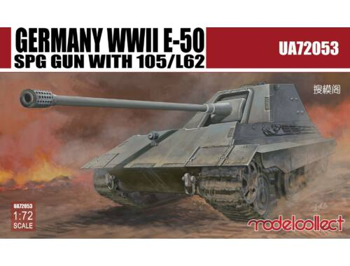 Modelcollect Germany WWII E-50 SPG GUN with 105/L62 1:72 (UA72053)