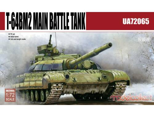 Modelcollect T-64BM2 Main Battle Tank 1:72 (UA72065)