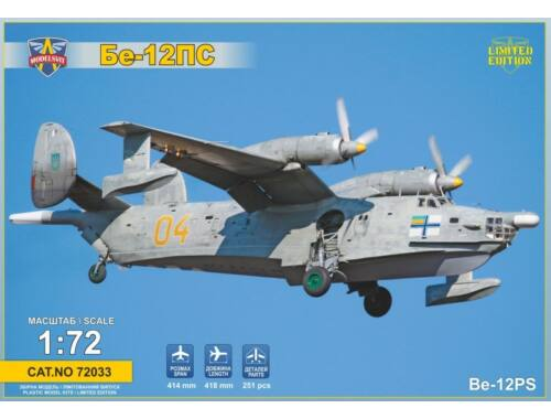 Modelsvit Beriev Be-12PS Search Rescue vers. 1:72 (72033)