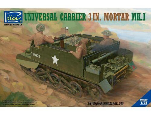 Riich Universal Carrier 3 in. Mortar Mk.1 1:35 (RV35017)