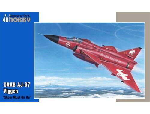 Special Hobby Aj-37 Viggen Show must go on 1:48 (48188)