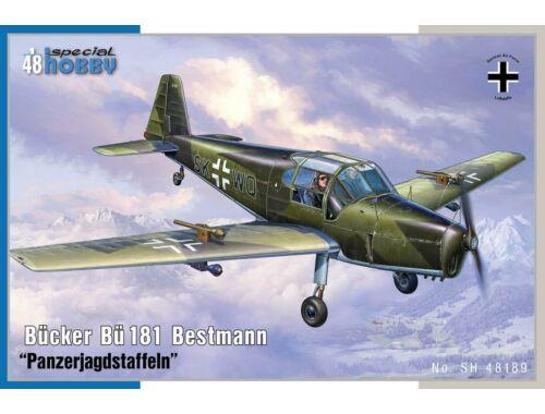 Special Hobby Bücker Bü 181 Bestmann Panzerjagdstaffel 1:48 (48189)