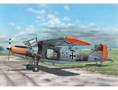 Special Hobby Dornier Do 27 German,Spanish and Belgian Service 1:72 (72327)