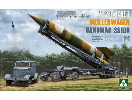 Takom V-2 Rocket Transporter/Erect Meillerwagen Hanomag SS100 1:35 (2030)