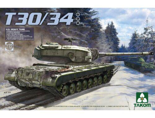 Takom U.S. Heavy Tank T30/34 2 in 1 1:35 (2065)