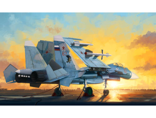 Trumpeter Russian Su-33 Flanker D 1:72 (01678)
