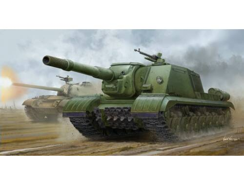 Trumpeter Soviet JSU-152K Armored Self-Propelled Gun 1:35 (05591)