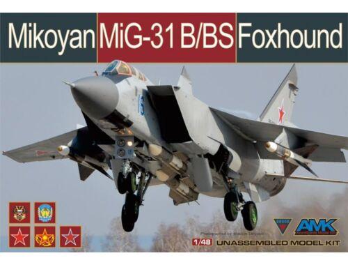AMK Mikoyan Mig-31B/BS Foxhound 1:48 (88008)
