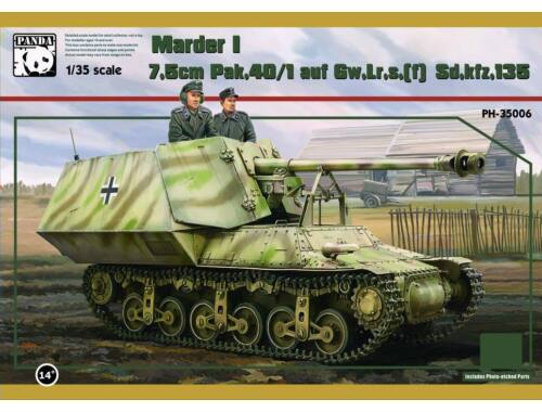 Panda Hobby Sd.Kfz.135 7,5cm Pak40-1 Marder I (Lorraine) 1:35 (35006)