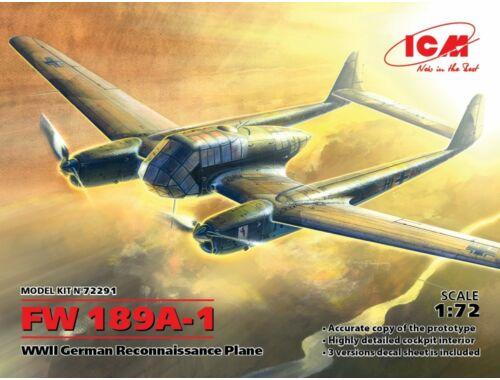 ICM Fw 189A-1 German Recon. 1:72 (72291)