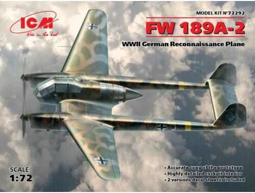 ICM Fw 189A-2 German Recon. 1:72 (72292)