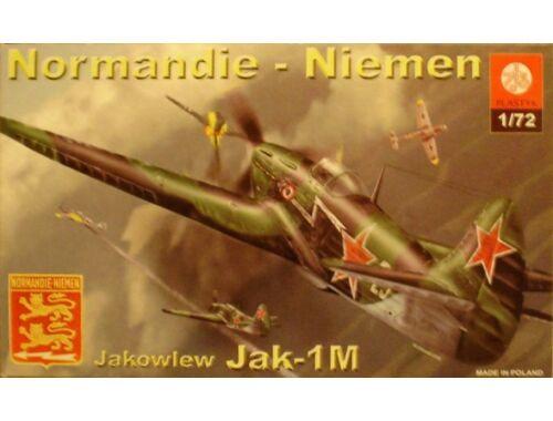 Plastyk Yak-1M Normandie-Niemen 1:72 (S036)
