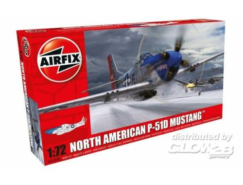 Airfix North American P-51D Mustang 1:72 (A01004A)