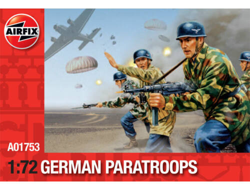 Airfix English Paratroops (Re-Release) 1:72 (A01753)