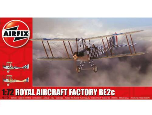 Airfix Royal Aircraft Factory BE2c Scout 1:72 (A02104)