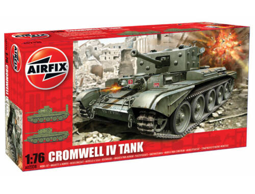 Airfix Cromwell Cruiser Tank (new tool) 1:76 (A02338)