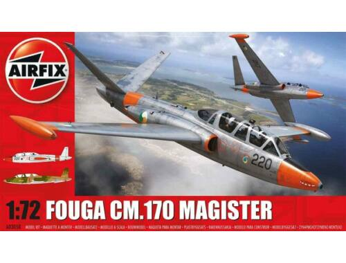 Airfix Fouga Magister 1:72 (A03050)