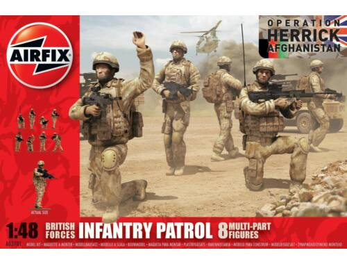 Airfix British Army Troops (new tool) 1:48 (A03701)