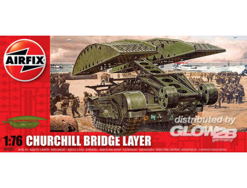 Airfix Churchill bridge layer 1:76 (A04301)