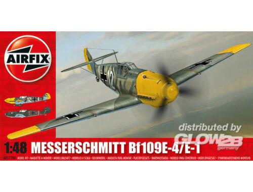 Airfix Messerschmitt Bf109E-4 / E-1 1:48 (A05120A)