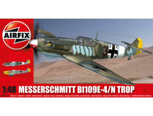 Airfix Messerschmitt Bf109E-Tropical 1:48 (A05122A)