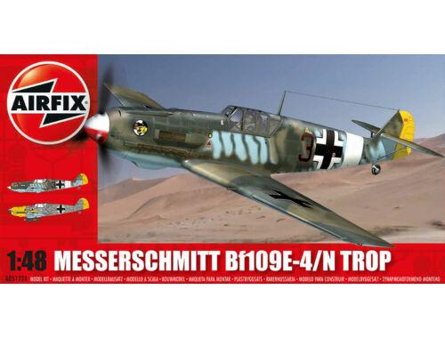 Airfix Messerschmitt Bf109E-Tropical 1:48 (A05122A)