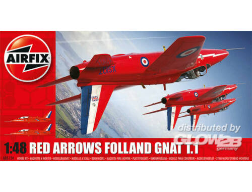 Airfix Red Arrows Folland Gnat T.1 1:48 (A05124)