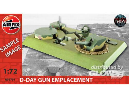 Airfix D-Day Gun Emplacement 1:72 (A05701)