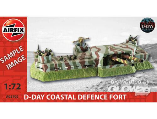 Airfix D-Day Coastel Defense Fort 1:72 (A05702)