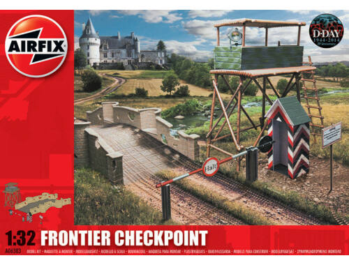 Airfix Frontier Checkpoint 1:32 (A06383)
