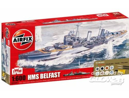 Airfix Light Cruiser HMS Belfast 1:144 (A50069)