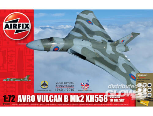 Airfix Vulcan to the sky Gift Set 1:72 (A50097)