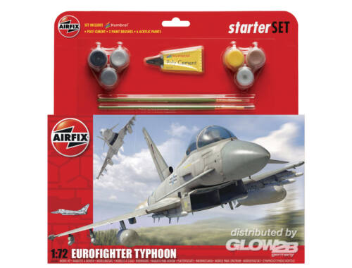 Airfix Eurofighter Typhoon - Large Starter Set 1:72 (A50098)