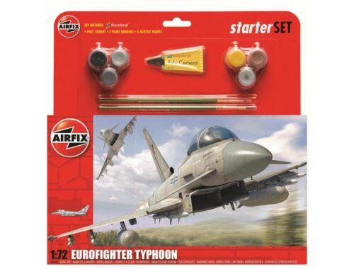 Airfix Eurofighter Typhoon - Large Starter Set 1:72 (A50098)