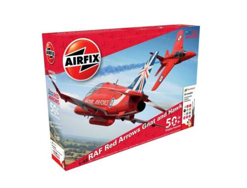Airfix Red Arrows 50TH Display Season Gift Set 1:48 (A50159)