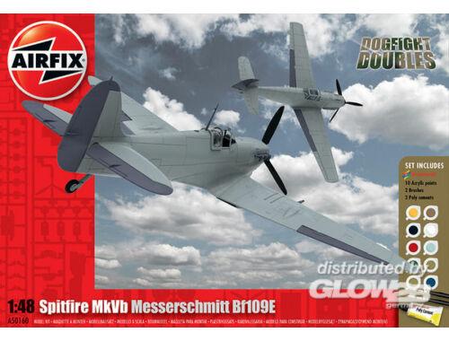 Airfix Supermarine Spitfire MkVb Messerschmitt Gift Set 1:48 (A50160)