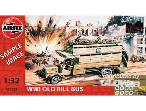 Airfix WWI Old Bill Bus Starter Set 1:35 (A50163)