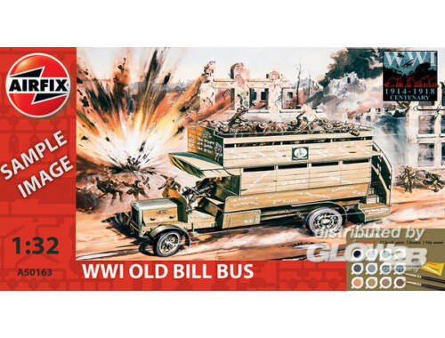 Airfix WWI Old Bill Bus Starter Set 1:35 (A50163)