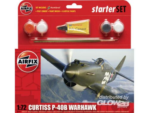 Airfix Starter Set P-40B (new tool) 1:72 (A55101)