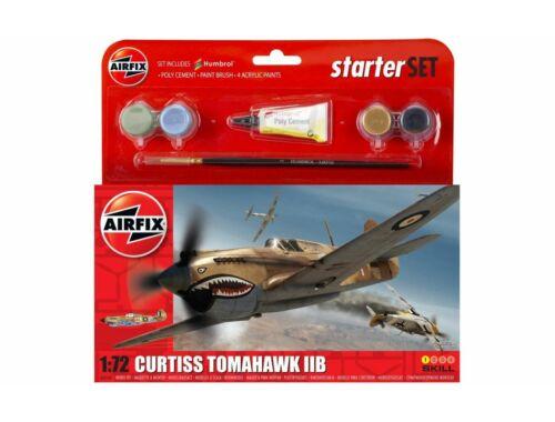 Airfix Starter Set Curtiss Tomahawk IIB 1:72 (A55101)