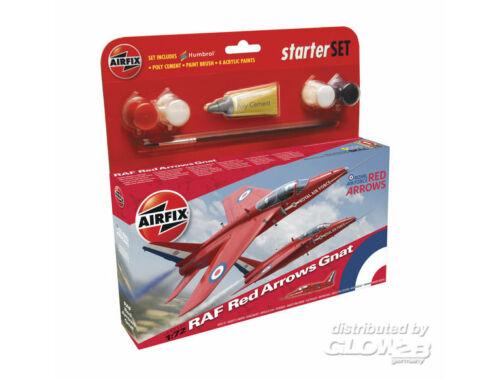 Airfix Red Arrow Gnat 1:72 Starter Set (A55105)