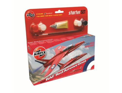 Airfix Red Arrow Gnat 1:72 Starter Set (A55105)