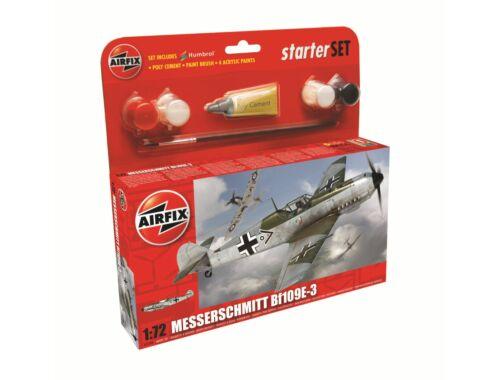 Airfix Messerschmitt Bf 109E 1:72 Starter Set (A55106)