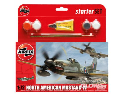 Airfix P-51D Mustang 1:72 Starter Set (A55107)