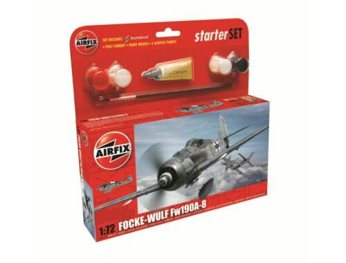 Airfix Focke Wulf 190A-8 Starter Set 1:72 Starter Set (A55110)