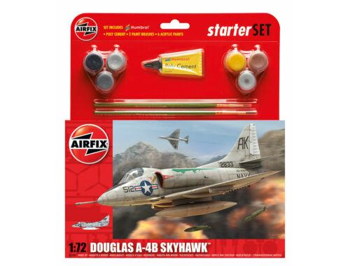 Airfix Starter Set Douglas A-4 Skyhawk 1:72 (A55203)