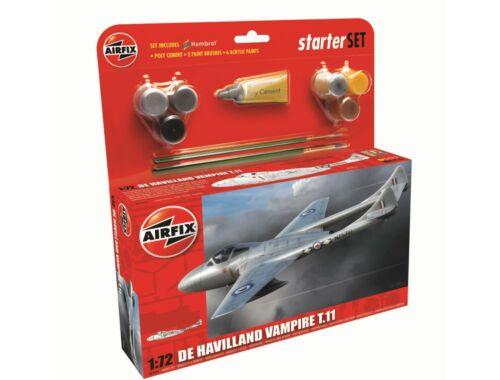 Airfix DH Vampire TII Starter Set 1:72 (A55204)
